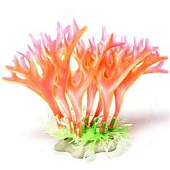 お買い得  アクアリウムデコレーション-アクアリウムの装飾 / Waterproof 飾り / サンゴ 防水 / 洗濯可 プラスチック