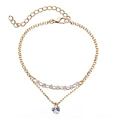 preiswerte Armbänder-Damen Ketten- & Glieder-Armbänder - Herz Stilvoll, Modisch Armbänder Gold Für Alltag / Formal
