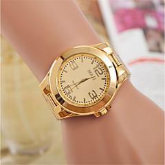 preiswerte Damenuhren-L.WEST Damen Armbanduhr Chinesisch Armbanduhren für den Alltag Legierung Band Freizeit / Modisch Gold