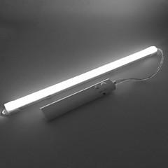 preiswerte LED Lichtstreifen-ZDM® 0,33 m LED Leuchtstäbe 24 LEDs Warmes Weiß / Kühles Weiß Neues Design / Selbstklebend / Körpersensor AA-Batterien angetrieben 1set