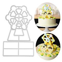 お買い得  ベイキング用品&ガジェット-ベークツール アルミ 新参者 / 3D / DIY ケーキのための / パーティー / 誕生日 ケーキ型 3本