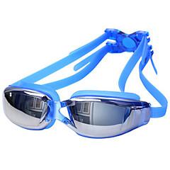 abordables Gafas de Natación-Gafas de natación Impermeable / Anti vaho / Anti-UV Aleación Recubierto / PC Blanco / Rojo / Gris