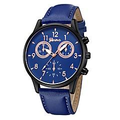 preiswerte Damenuhren-Geneva Armbanduhr Sender Neues Design, Armbanduhren für den Alltag, Cool Schwarz / Weiß / Rotgold / Weiß / Braun / Ein Jahr / Ein Jahr
