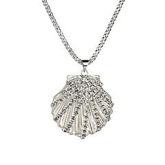 preiswerte Halsketten-Damen Lang Anhängerketten - Hülle Europäisch, Modisch Silber 73 cm Modische Halsketten Schmuck 1pc Für Party, Valentinstag