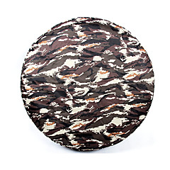 cheap Car Covers-Full Coverage Spare Tire Covers PU(Polyurethane) For Jeep Wrangler All years for All Seasons