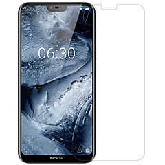 abordables Protectores de Pantalla para Nokia-Nillkin Protector de pantalla para Nokia Nokia X6 PET 1 pieza Protector de lente frontal y de cámara Ultra Delgado / Mate / Anti-Arañazos