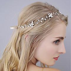 Недорогие Женские украшения-Жен. Простой Цепочка на голову - Перекрещивание Цветочный принт