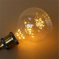 お買い得  LED 電球-1個 3 W 300 lm E26 / E27 フィラメントタイプLED電球 G125 45 LEDビーズ SMD 装飾用 / 星の 暖かい黄色 85-265 V