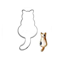 お買い得  ベイキング用品&ガジェット-長いテールの猫のクッキー金型