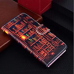 Недорогие Кейсы для iPhone 6-Кейс для Назначение Apple iPhone X / iPhone 8 Plus Кошелек / Бумажник для карт / со стендом Чехол Масляный рисунок Твердый Кожа PU для iPhone X / iPhone 8 Pluss / iPhone 8