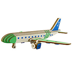 abordables Niños Puzzles-Puzzles 3D Avión Interacción padre-hijo De madera 1 pcs Niños Todo Regalo