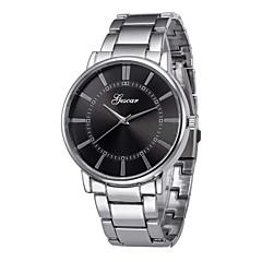 abordables Relojes con Correa de Acero-Hombre Reloj de Pulsera Chino Cronógrafo / Reloj Casual Acero Inoxidable Banda Brazalete / Minimalista Plata