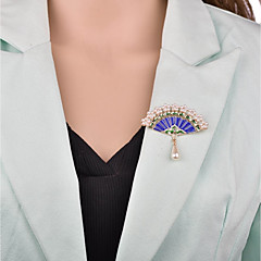 お買い得  ブローチ-女性用 3D ブローチ  -  ヴィンテージ, 欧風 ブローチ ゴールド 用途 パーティー / オフィス&キャリア