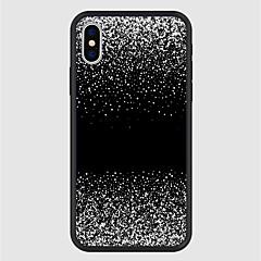 Недорогие Кейсы для iPhone 7-Кейс для Назначение Apple iPhone X / iPhone 8 Plus С узором Кейс на заднюю панель Мультипликация / Градиент цвета Твердый Акрил для iPhone X / iPhone 8 Pluss / iPhone 8