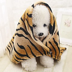 cheap Dog Supplies & Grooming-Portable / Mini / Soft Dog Clothes Bed / Towels / Towel Animal / Fashion / Lolita Stripe Rodents / Dogs / Cats