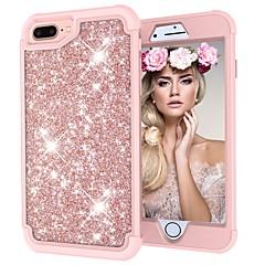 Недорогие Кейсы для iPhone 7 Plus-Кейс для Назначение Apple iPhone X / iPhone 8 Защита от удара / Сияние и блеск Чехол Сияние и блеск Твердый ПК для iPhone X / iPhone 8 Pluss / iPhone 8