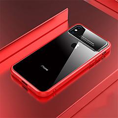Недорогие Кейсы для iPhone 7-Кейс для Назначение Apple iPhone X / iPhone 8 Прозрачный Кейс на заднюю панель Однотонный Твердый ПК для iPhone X / iPhone 8 Pluss / iPhone 8