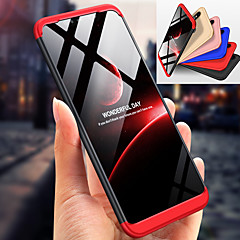 Недорогие Чехлы и кейсы для Xiaomi-Кейс для Назначение Xiaomi Mi 8 Защита от удара Чехол Однотонный Твердый ПК для Xiaomi Mi 8