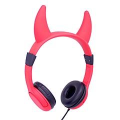 お買い得  ヘッドセット、ヘッドホン-Factory OEM I3E ヘアバンド ワイヤー ヘッドホン ヘッドフォン プラスチックシェル プロオーディオ イヤホン キュート / 愛らしいです / かわいい ヘッドセット