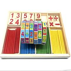abordables Juguetes de la matemáticas-El modelo geométrico Número Compuestos de madera y plástico / Madera / Bambú Piezas Niño / Elemental Regalo