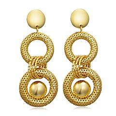 preiswerte Ohrringe-Damen Stilvoll Tropfen-Ohrringe - Modisch, Mehrfarbig Gelb Für Party / Geburtstag