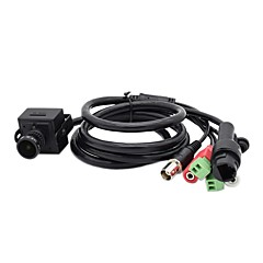 abordables Cámaras IP-hqcam 1080p onvif 2.4 mini cámaras web de seguridad mini cámara IP, soporte rs485, alarma en, salida de audio \ input, cvbs 2mp