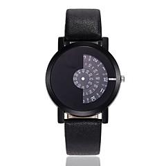 preiswerte Damenuhren-Herrn / Damen Kleideruhr / Armbanduhr Chinesisch Neues Design / Armbanduhren für den Alltag Legierung Band Freizeit / Modisch Schwarz / Weiß / Blau