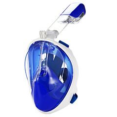 abordables Máscaras de Buceo-Buceo Máscaras / Máscara de esnórquel Anti vaho, Máscaras de Cara Completa, Submarino Ventanilla Única - Natación, Buceo Silicona,