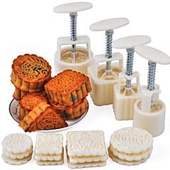 お買い得  ベイキング用品&ガジェット-ベークツール プラスチック / メタル クール / 多機能 ケーキ 円形 / 方形 ケーキ型 16PCS