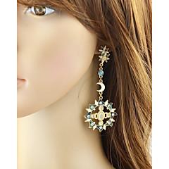 preiswerte Ohrringe-Damen Nicht übereinstimmend Tropfen-Ohrringe - Sonne, MOON Grundlegend, Modisch Gold Für Alltag / Verabredung