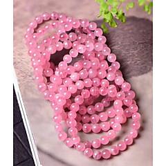 preiswerte Armbänder-Damen Glasperlen Strang-Armbänder - Kreativ, Kugel damas, Einfach, Romantisch, Süß Armbänder Schmuck Rosa Für Alltag Verabredung