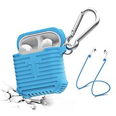 abordables Accesorios para Auriculares-Funda para auriculares / Organizador de auriculares Silicona Azul Piscina / Negro / Gris 1 pcs