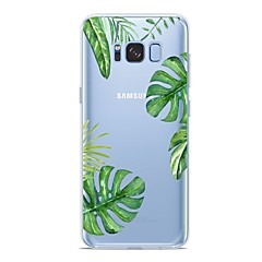 abordables Galaxy S6 Carcasas / Fundas-Funda Para Samsung Galaxy S9 Plus / S9 Diseños Funda Trasera Plantas Suave TPU para S9 / S9 Plus / S8 Plus