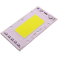 abordables Accesorios LED-1pc COB Luminoso Chip LED Aluminio para DIY Proyector de luz de inundación LED 50 W