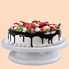 お買い得  ベイキング用品&ガジェット-リングケーキメーカーで装飾軽量固体のケーキのターンテーブルDIYを装飾ケーキ