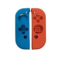 Недорогие Аксессуары для Nintendo Switch-Игровой контроллер Case Protector Назначение Nintendo Переключатель ,  обожаемый Игровой контроллер Case Protector Силикон 1 pcs Ед. изм