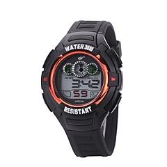 abordables Relojes Deportivos-Hombre Reloj Deportivo / Reloj de Pulsera Chino Nuevo diseño / Reloj Casual Silicona Banda Casual / Moda Negro