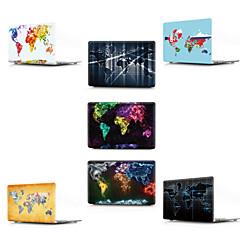 """abordables Accesorios para Mac-MacBook Funda Mapa / Dibujo 3D CLORURO DE POLIVINILO para Nuevo MacBook Pro 13"""" / MacBook Air 13 Pulgadas / MacBook 12''"""
