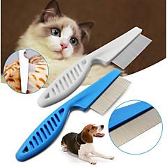 お買い得  犬用品&グルーミング用品-犬用 / 猫用 グルーミングキット / クリーニング コーム カジュアル/普段着 ホワイト