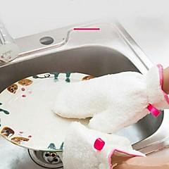 お買い得  キッチン清掃用品-キッチン クリーニング用品 繊維 グローブ 保護 / ツール 1セット