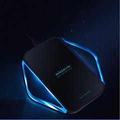 abordables Gadgets para Samsung-nillkin 10w / 7.5w / 5w carga rápida cargador inalámbrico para iphone xs iphone xr xsmax iphone 8 samsung s9 plus s8 nota 8 o receptor incorporado teléfono inteligente qi