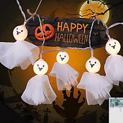 preiswerte LED Lichtstreifen-2,5 m Leuchtgirlanden 20 LEDs Warmes Weiß / Weiß / Mehrfarbig Dekorativ / Cool AA-Batterien angetrieben