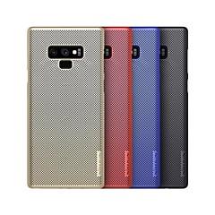 billige Nyheter-nillkin etui til Samsung Galaxy Note 9 støtdempet / frostet bakdeksel solid farget hard pc for notat 9