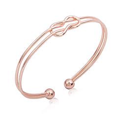 preiswerte Armbänder-Damen Manschetten-Armbänder - Unendlichkeit Einfach, Koreanisch, Modisch Armbänder Champagner Für Geschenk Zeremonie Abiball