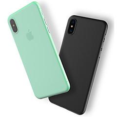 Недорогие Кейсы для iPhone X-Кейс для Назначение Apple iPhone X / iPhone 8 / iPhone 8 Plus Защита от пыли Кейс на заднюю панель Однотонный Твердый пластик для iPhone X / iPhone 8 Pluss / iPhone 8