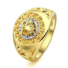 preiswerte Ringe-Damen Skulptur Statement-Ring - Löwe Punk, Ethnisch, Boho 6 / 7 / 8 / 9 / 10 Gold Für Professionell Klub