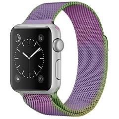 abordables Accesorios para Reloj-Acero Inoxidable Ver Banda Correa para Apple Watch Series 3 / 2 / 1 Morado 23cm / 9 pulgadas 2.1cm / 0.83 Pulgadas