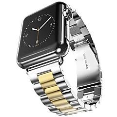 preiswerte Herrenuhren-Edelstahl Uhrenarmband Gurt für Apple Watch Series 3 / 2 / 1 Schwarz / Gold 23cm / 9 Zoll 2.1cm / 0.83 Inch