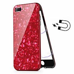 Недорогие Кейсы для iPhone 7 Plus-Кейс для Назначение Apple iPhone 8 Plus / iPhone 7 Plus Покрытие Чехол броня Твердый Закаленное стекло для iPhone 8 Pluss / iPhone 7 Plus
