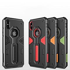 Недорогие Кейсы для iPhone X-Nillkin Кейс для Назначение Apple iPhone X / iPhone XS Защита от удара Кейс на заднюю панель броня Твердый ПК для iPhone XS / iPhone X